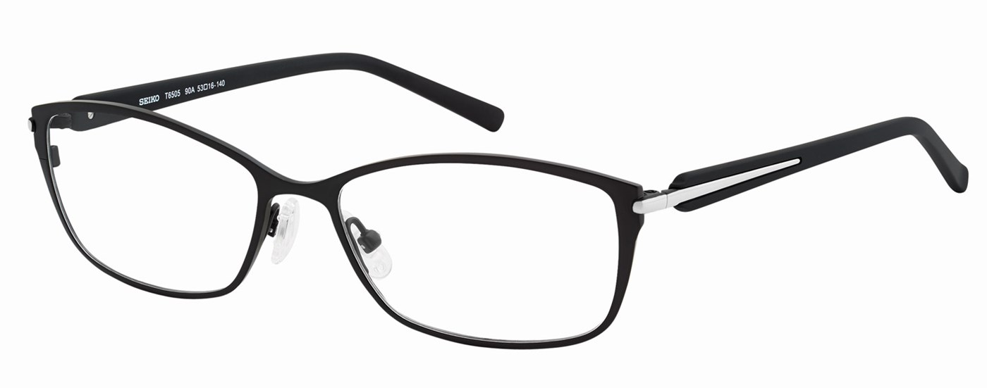 Dark eyeglass frames