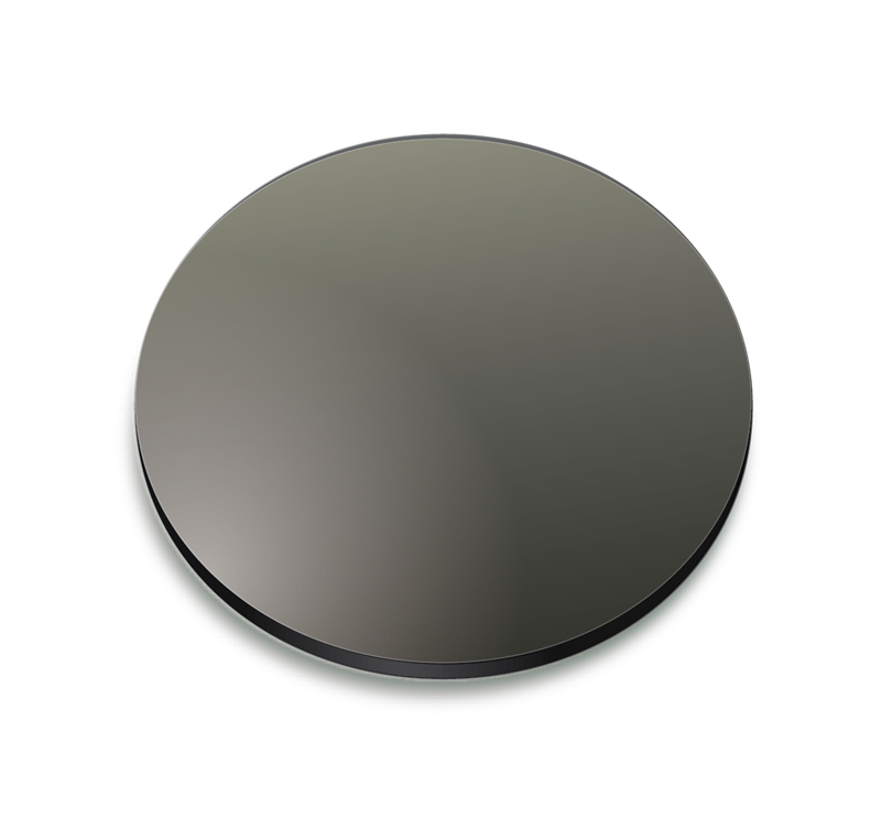 Gray gradient coloured lens
